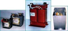 Single phase open type isolation transformers