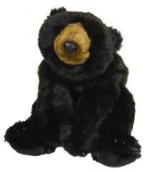 BLACK BEAR LAYING
