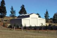 11m x 7m x 3.6m eave height barn