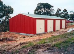 4 door garage