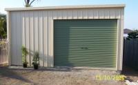 One door garage