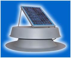 Solar Powered Roof Fan
