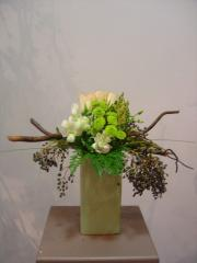 Creative modern design flowers
