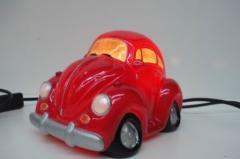 Lamp VW Pink