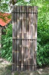 Black bamboo panel