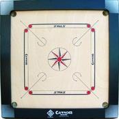 STRIKE (Black) Carrom Board