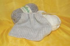 Certified Organic 8 Ply Knitting Wool
