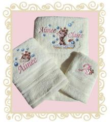 Personalised Towel Set