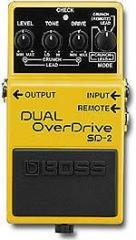 SD-2 Dual Overdrive Effects Pedal