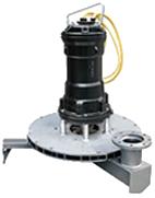 Radial submersible aerators