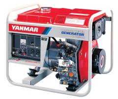 Air Cooled Diesel Generator, Model Yanmar YDG 3700