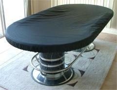 Oval Heavy Duty Vinyl CASINO Poker Table Cover