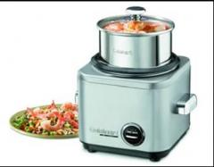 Rice Cooker - 4 Cup Stainless Brushed