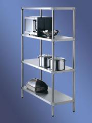 Adj. Storage Shelving 4 Tier