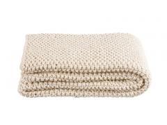 Balin knitted (natural) ThrowMeasurements: 130 x