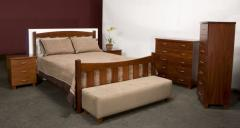 Hamilton bedroom suite with ottoman