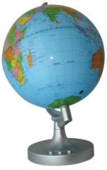 Rotating Colour Change Globe