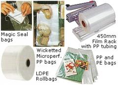 Poly bags and tubing