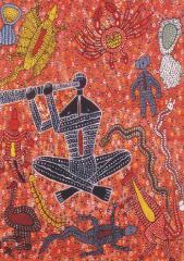 Didgeridoo Man Puzzle (1000 Piece) Artist - Robert