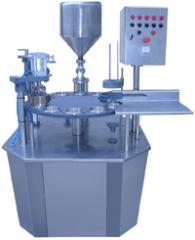Fully Automatic Rotary Tub / Cup Filler and Sealer
