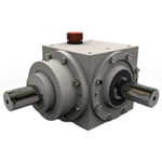Spiral beval gearboxes