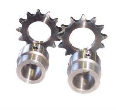 Weld fit sprockets
