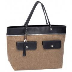 Longchamp Bazar Double Two Handle Tote