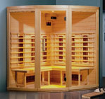 3 to 4 person Healthwave Sauna Circular Corner