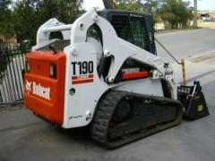 Bobcat T190 G-Series track loader
