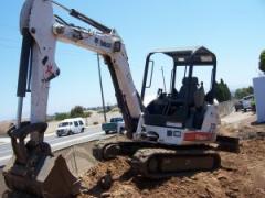 Bobcat 331 excavator '07 model