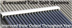 Evacuated Tube Solar Hot Water