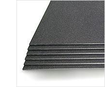 Flat sheet materials