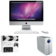 "Desktop Computer, Apple MB950X/A 21.5"""