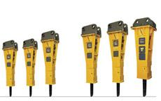 Hydraulic breakers large