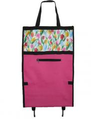 Tulip design folding shopping trolley