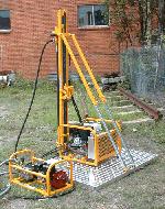 Mini rig MR131- winch feed