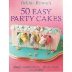 50 Easy party cake book