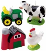 Farmyard candles