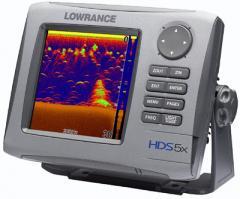 Fishfinders, Lowrance HDS-5X