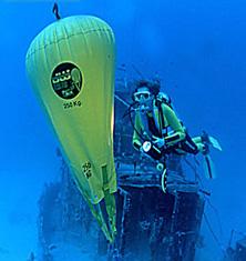 Parachute Lift Bags, JW Automarine