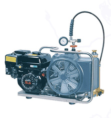 Diving Compressor, Bauer Oceanus