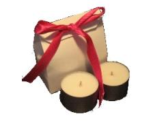 Unfragranced Soy Tealight Cups 2 pack (8hrs ea)