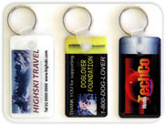 Corporate key tags