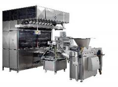 Industrial bread line with MO-881