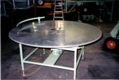 Pot Accumulator Rotary Table