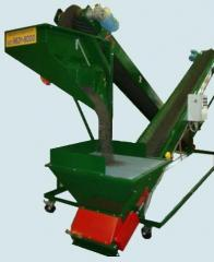 Continuous Conveyor Potting and Mixing Machine