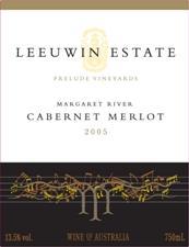 2005 Prelude Vineyards Cabernet Merlot Wine