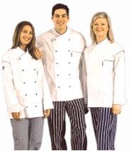 Chef's uniforms