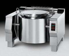 Electronic tilting kettles