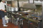 Commercial kitchen and catering industry installations